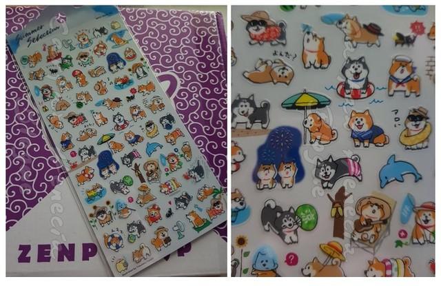 stickers shiba