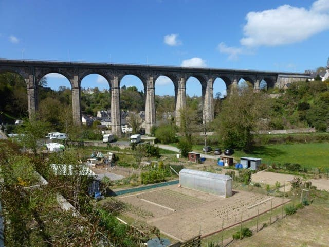 Viaduct on the Rance (DInan)