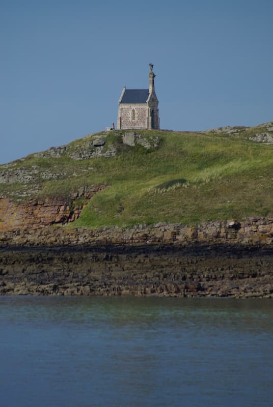 The chapel of St Michel islet