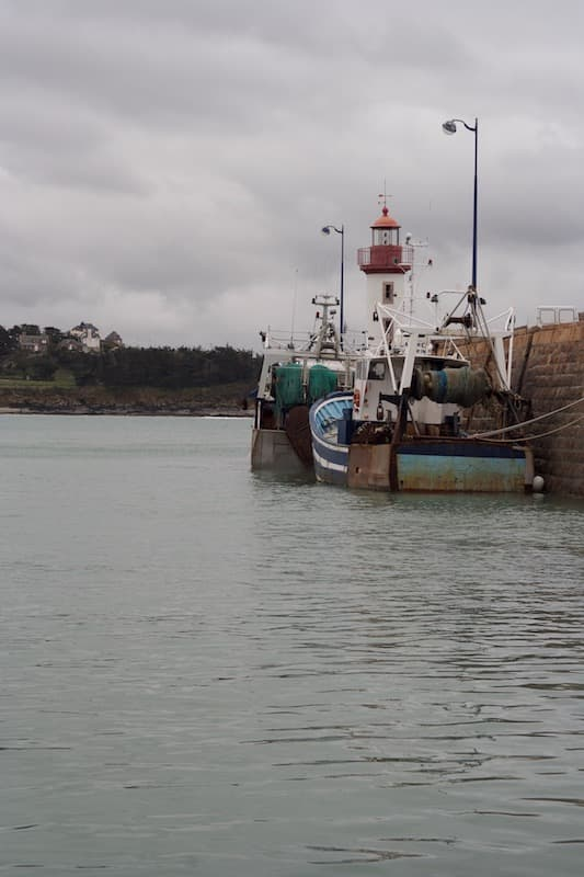 The harbor (Erquy)