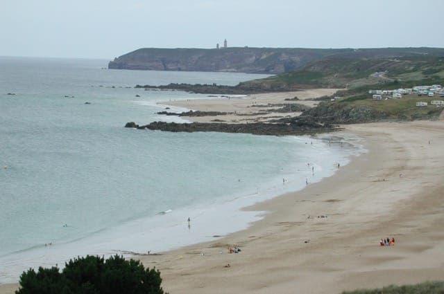 Beach of Anse du Croc (our beach…)