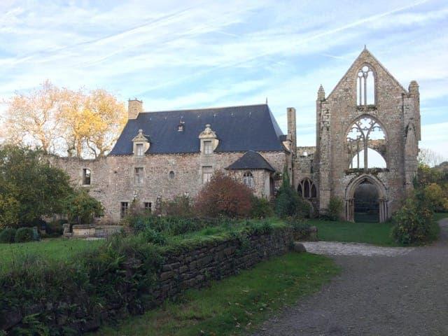 Abbey of Beauport (near Paimpol)