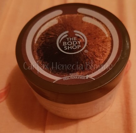 gommage coco body shop