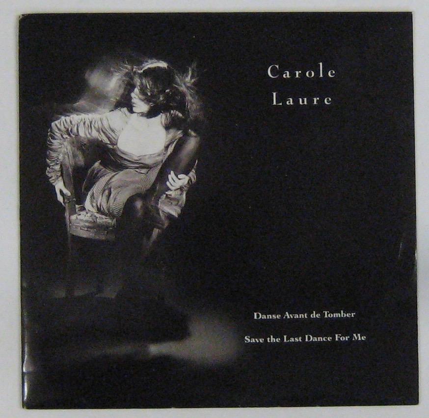 LAURE CAROLE - Danse avant de tomber - 45T (SP 2 titres)
