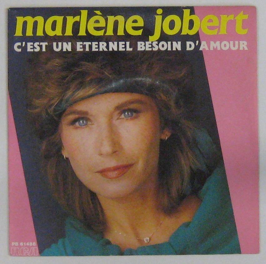 JOBERT MARLÈNE - C'est un éternel besoin d'amour - 45T (SP 2 titres)