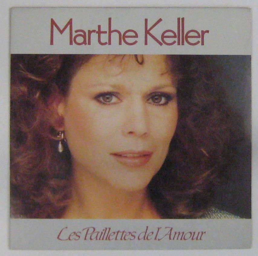 KELLER MARTHE - Les paillettes de l'amour - 45T (SP 2 titres)