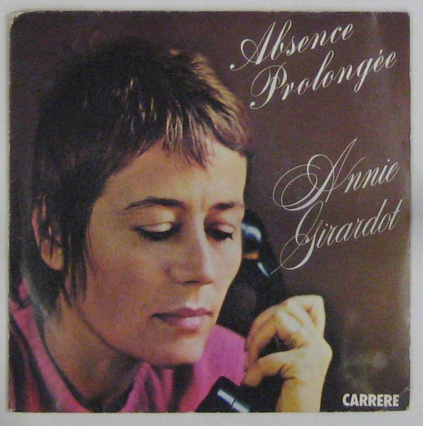 GIRARDOT ANNIE - Abscence prolongée - 45T (SP 2 titres)