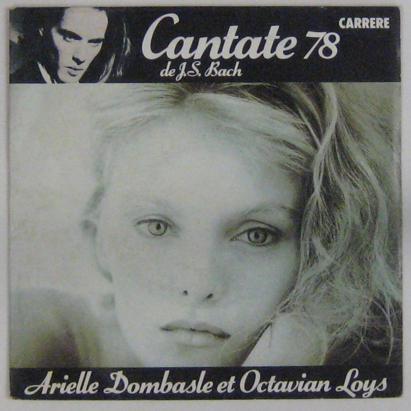 DOMBASLE ARIELLE - Cantate 78 - 45T (SP 2 titres)