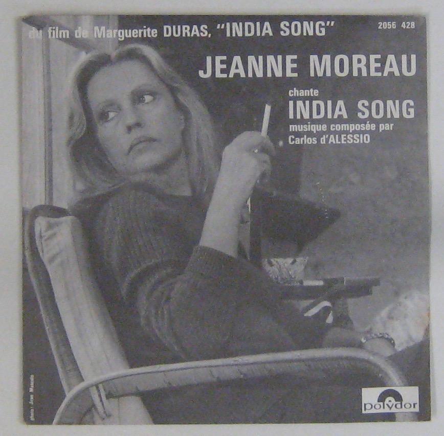 MOREAU JEANNE - India song - 45T (SP 2 titres)