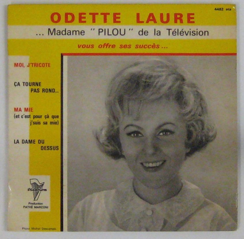 LAURE ODETTE - Moi j'tricote - 45T (EP 4 titres)