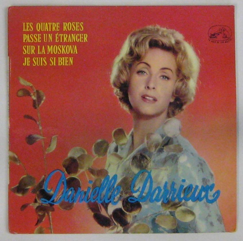 DARRIEUX DANIELLE - Les quatre roses - 45T (EP 4 titres)