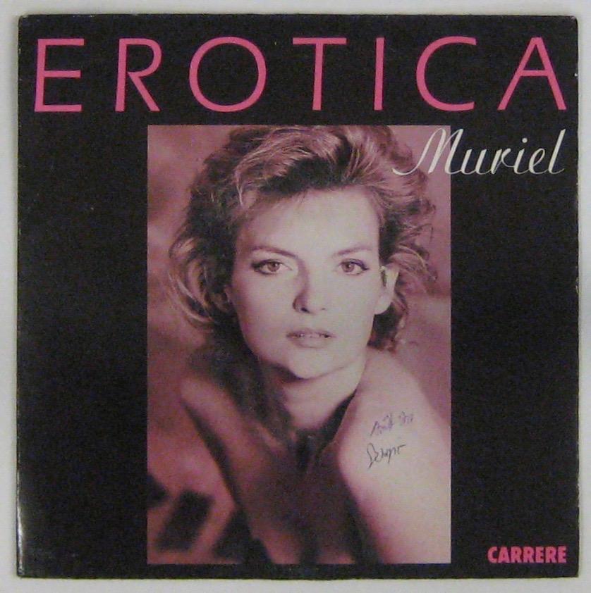 MURIEL - Erotica - 45T (SP 2 titres)
