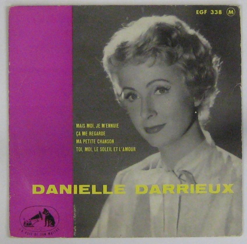 DARRIEUX DANIELLE - Mais moi je m'ennuie - 45T (EP 4 titres)