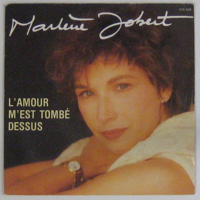 JOBERT MARLÈNE - L'amour m'est tombé dessus - 45T (SP 2 titres)