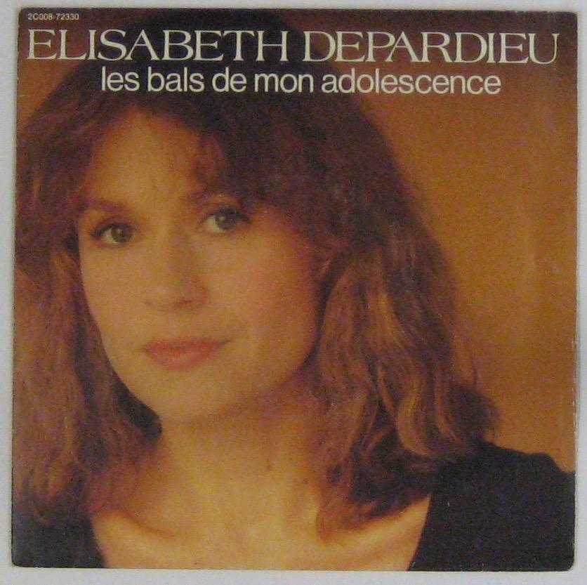 DEPARDIEU ELISABETH - Les bals de mon adolescence - 45T (SP 2 titres)