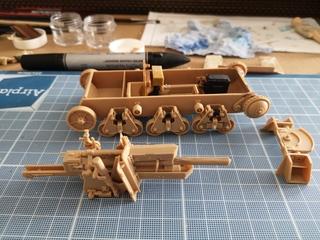 Trumpeter 1/35 Obusier de 105mm sur chassis Hotchkiss H39 (39 H 10.5cm LeFH18(Sf) 19091505470824978616409185
