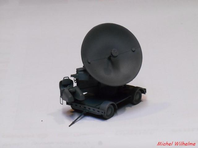 Radar FUSE 620 WÜRZBURG             kit Hauler 1/72 1909261008345625616426081
