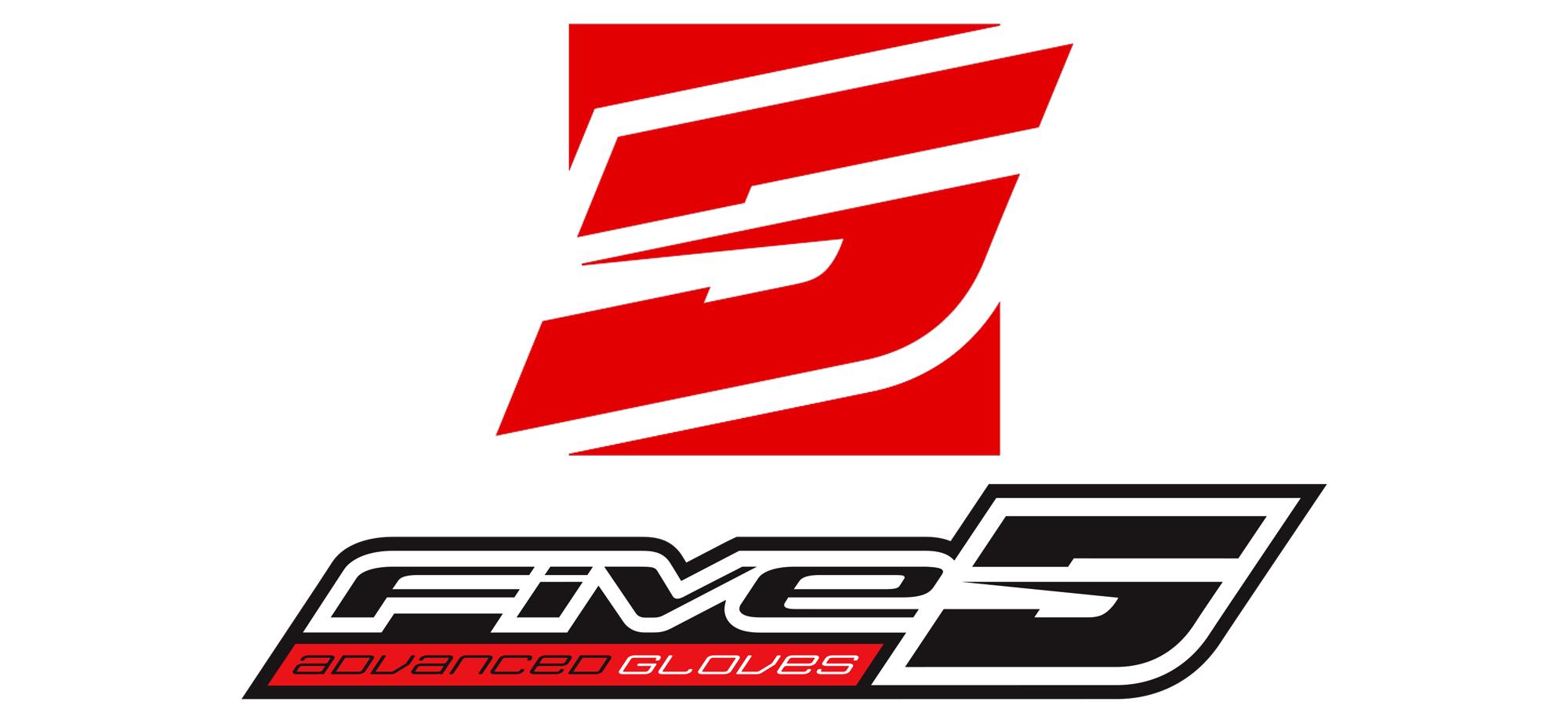 logo fives glove