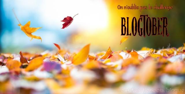 défi blogtober