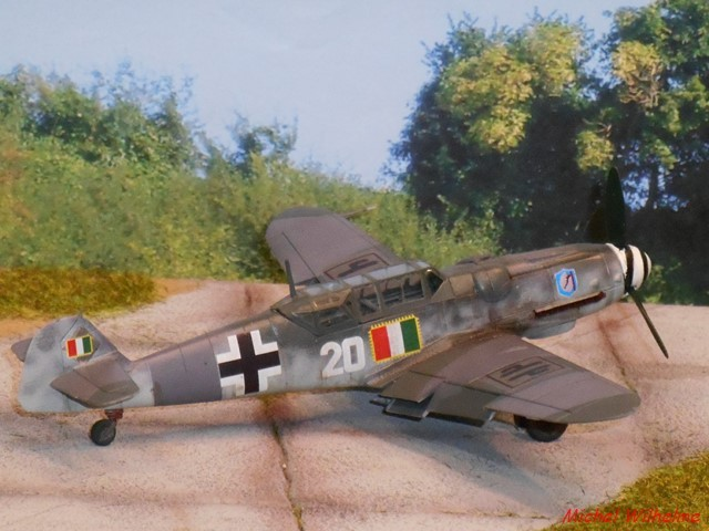 MESSERSCHMITT 109  G.12 AZ model 1/72 1910090651195625616452137
