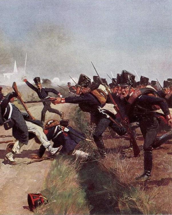 Garde prussienne à Lützen