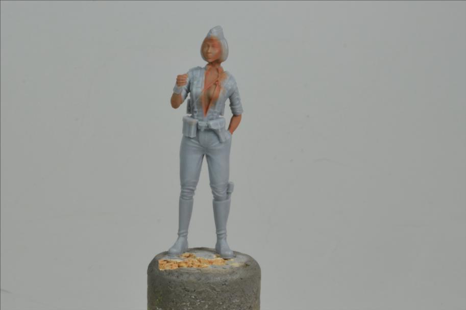 Marcheur  de combat (YUFAN MODEL) 1/48 19101910052322494216469205