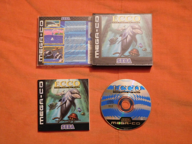 [Vds] Ecco the dolphin - The Tides of Time - Mega CD Complet  19102403134616048516476070