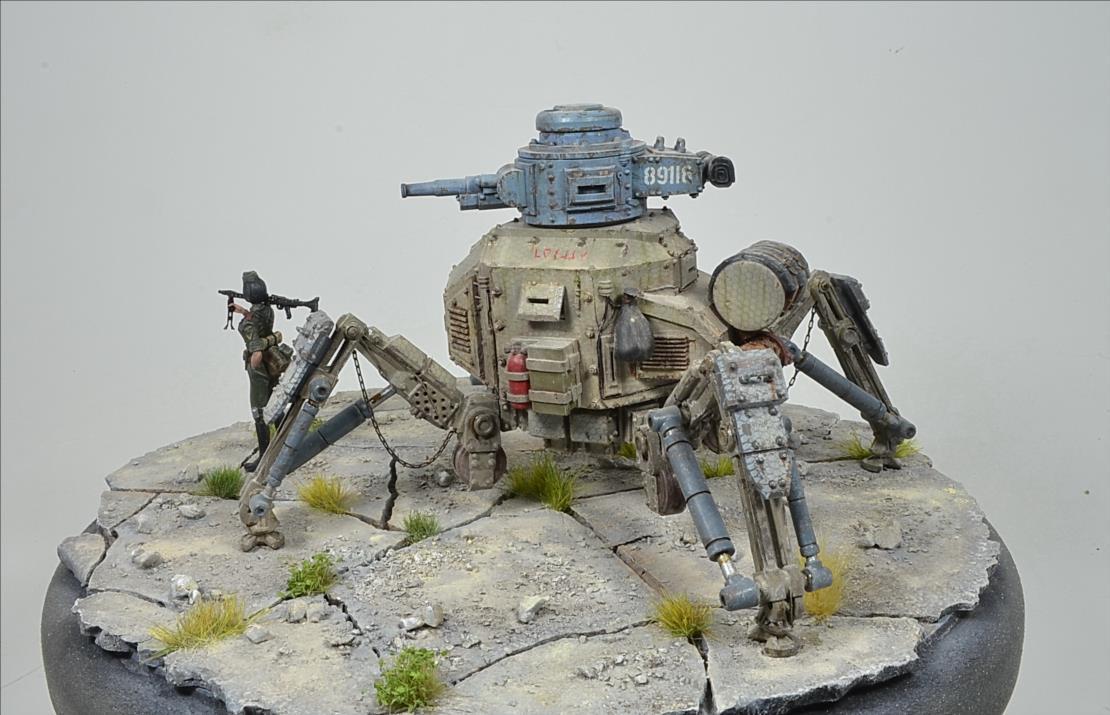 Marcheur  de combat (YUFAN MODEL) 1/48 19102807100922494216482033