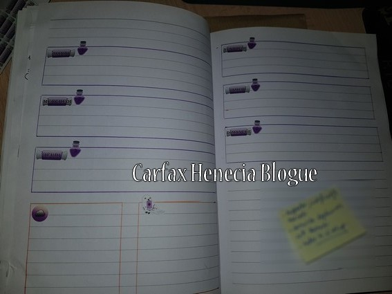 pages semaines bujo halloween