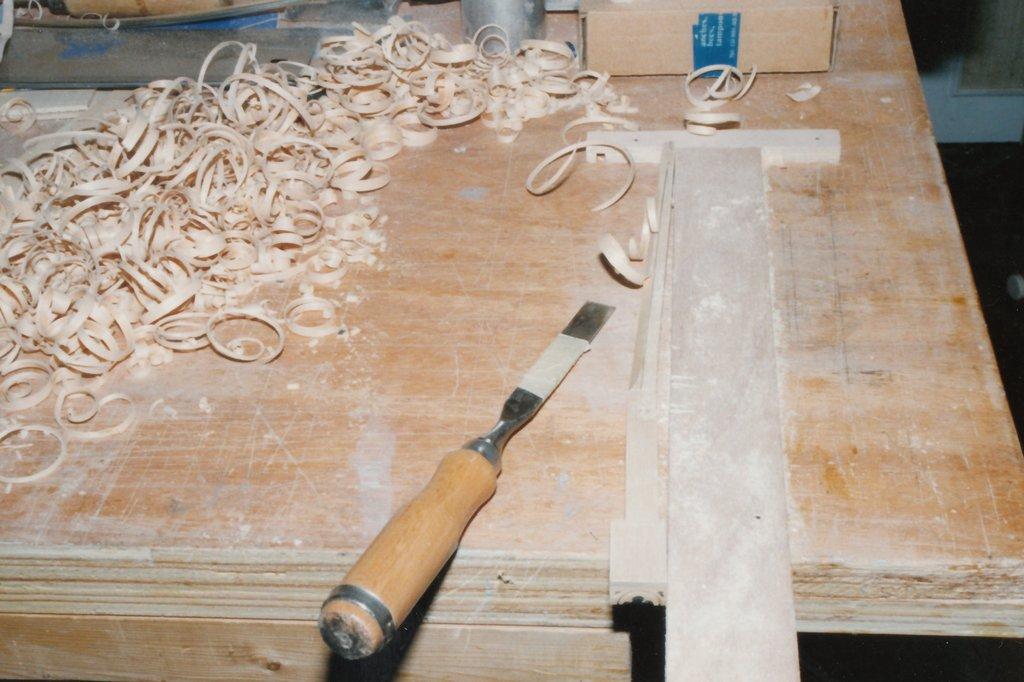 Fabrication d'instruments de musique anciens de bgire MIQ3Ib-1992-Clavicorde-Pisaurensis-32