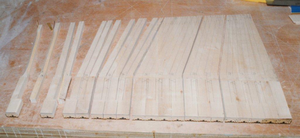 Fabrication d'instruments de musique anciens de bgire BJQ3Ib-1992-Clavicorde-Pisaurensis-37