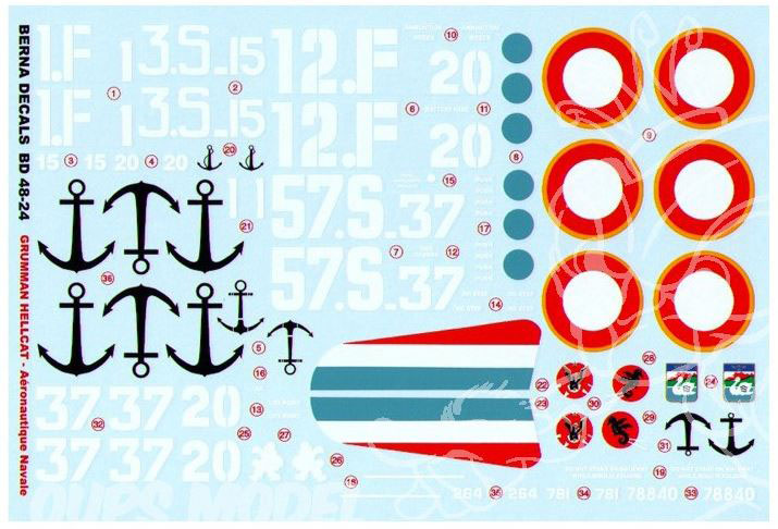 Hellcat F6F-5 ÷ Eduard 8224 ÷ 1/48 1911110632265585016505642