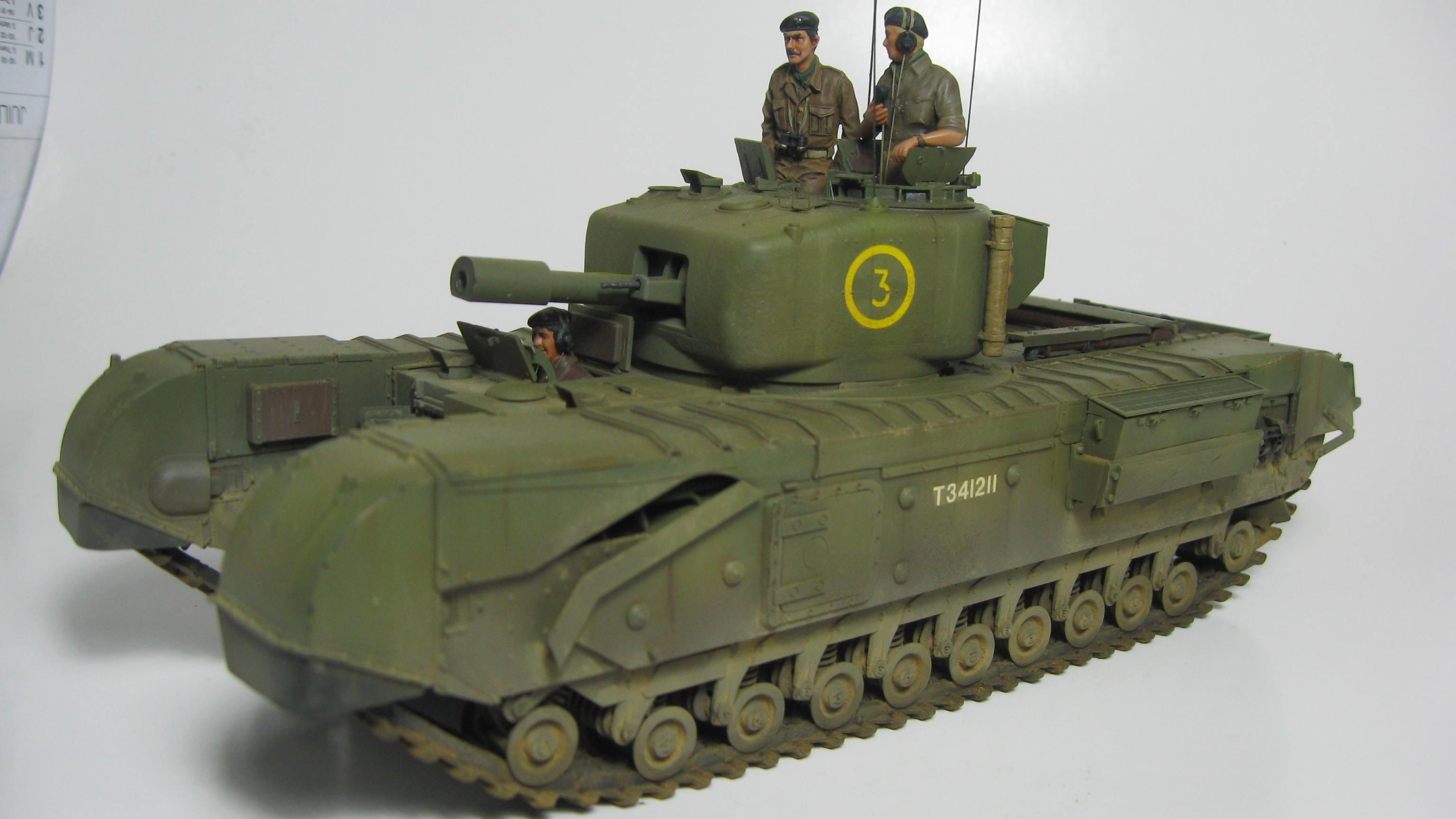 Churchill Tank Mk.II 19111108090724989916505835