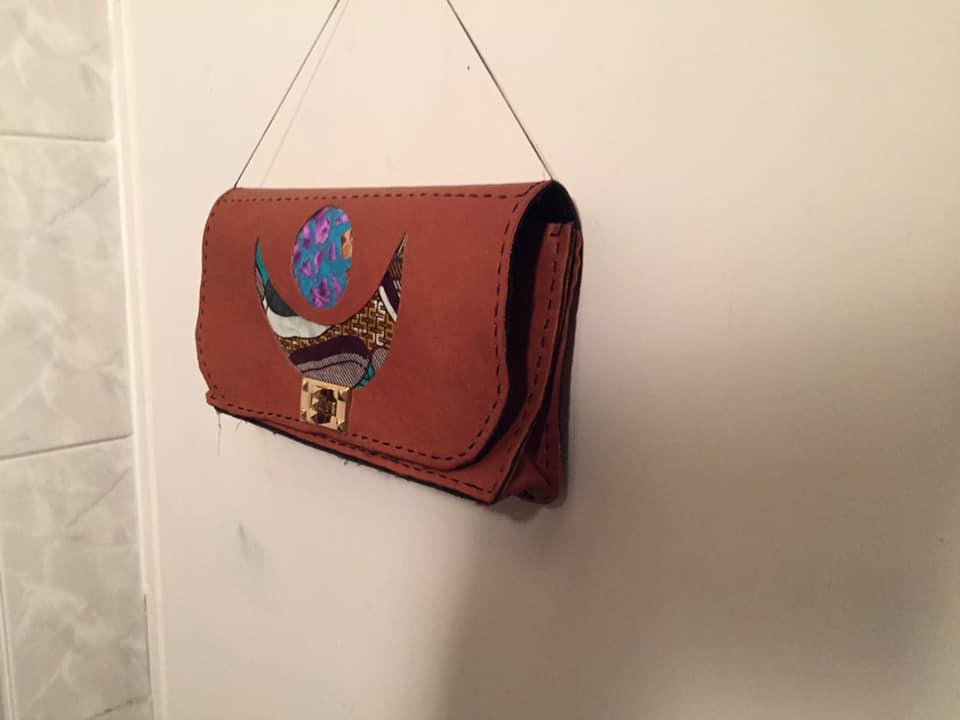 sac lune brun