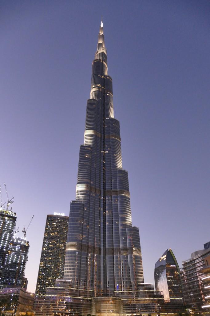 Burj Kalifa à Dubai 19112902093024354416532133