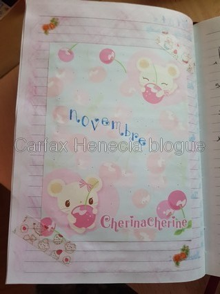 billet journal cherine cherine