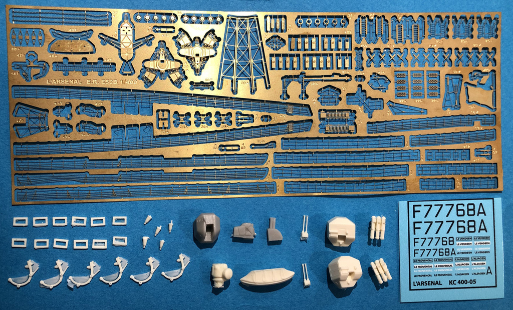 Resin Set 8 L/'Arsenal Models 1//144 DC LAUNCHERS