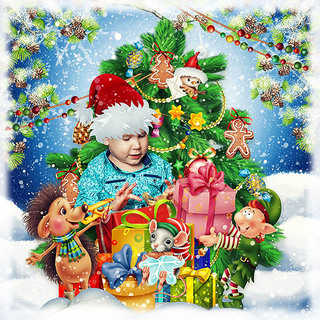 THE ELVES OF CHRISTMAS - Lundi 9 décembre / monday december 9th 19120810231019599816547113