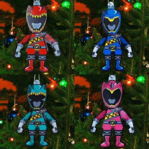 DpgHIb-Papercraft-Power-Ranger-Christmas-Ornaments dans Papertoy