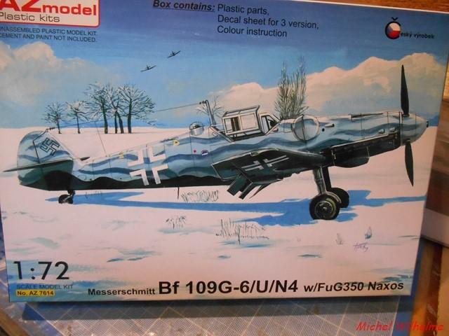 MESSERSCHMITT  BF 109 G.6 U /N5 Fug 350. az model 1/72 1912260220345625616572447