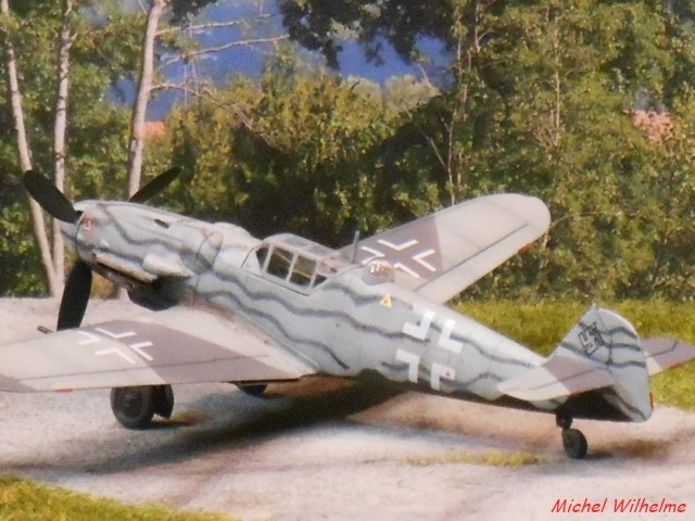MESSERSCHMITT  BF 109 G.6 U /N5 Fug 350. az model 1/72 1912300848225625616576420