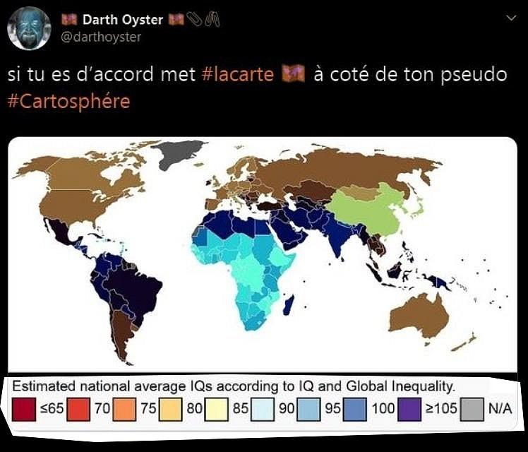 Carte mondiale du QI 20010207365419405316581182