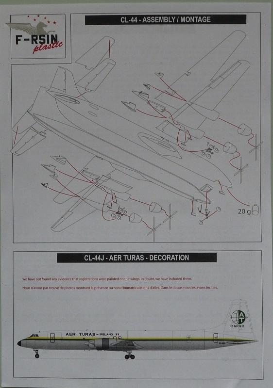 CL-44J F-RSIN  Aer Turas 2001040201165669816585571