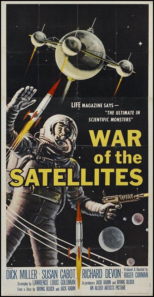POSTEROÏDE - War of the Satellites dans Cineteek ECNPIb-1