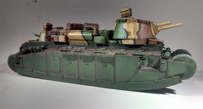 Un cuirassé terrestre : le char 2C de Meng au 1/35 - Page 2 PQxQIb-2C-53