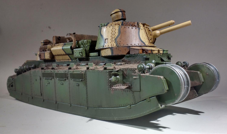 Un cuirassé terrestre : le char 2C de Meng au 1/35 - Page 2 RQxQIb-2C-57