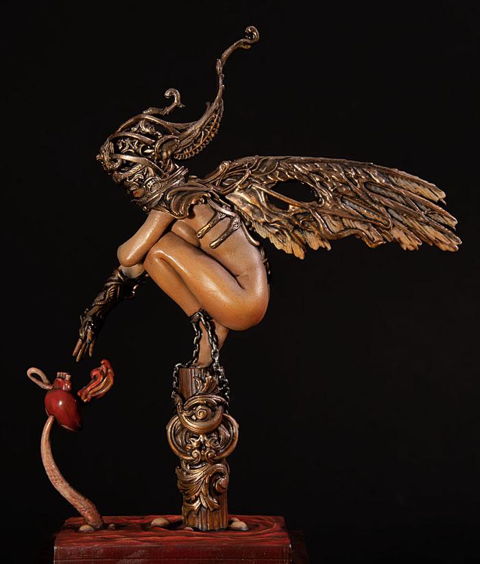 Forgotten, l'ange déchu Nocturna 90 mm 20011807390814703416607999