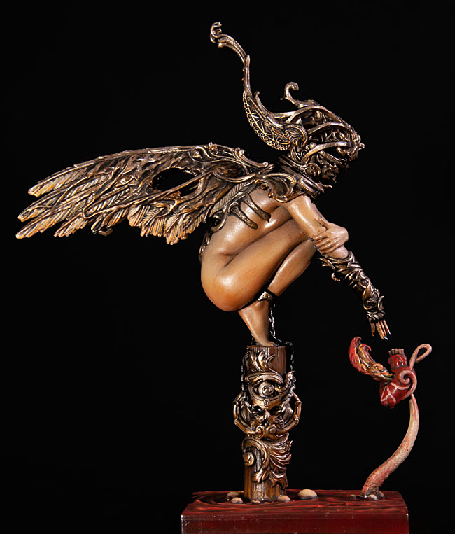 Forgotten, l'ange déchu Nocturna 90 mm 20011807390914703416608002