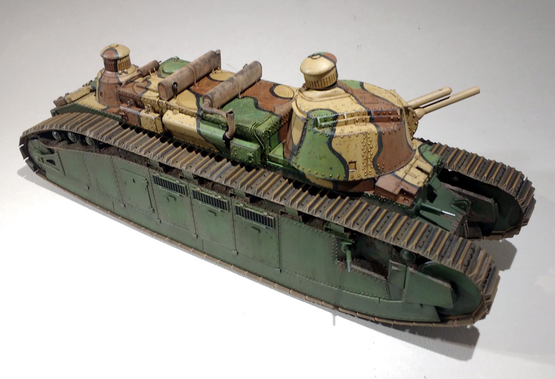 Un cuirassé terrestre : le char 2C de Meng au 1/35 - Page 2 WRrTIb-2C-58