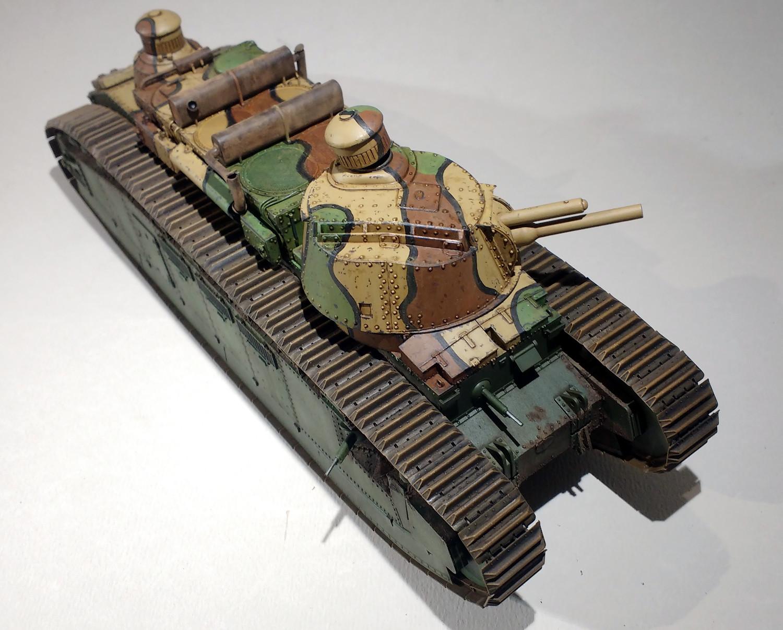Un cuirassé terrestre : le char 2C de Meng au 1/35 - Page 2 WRrTIb-2C-59